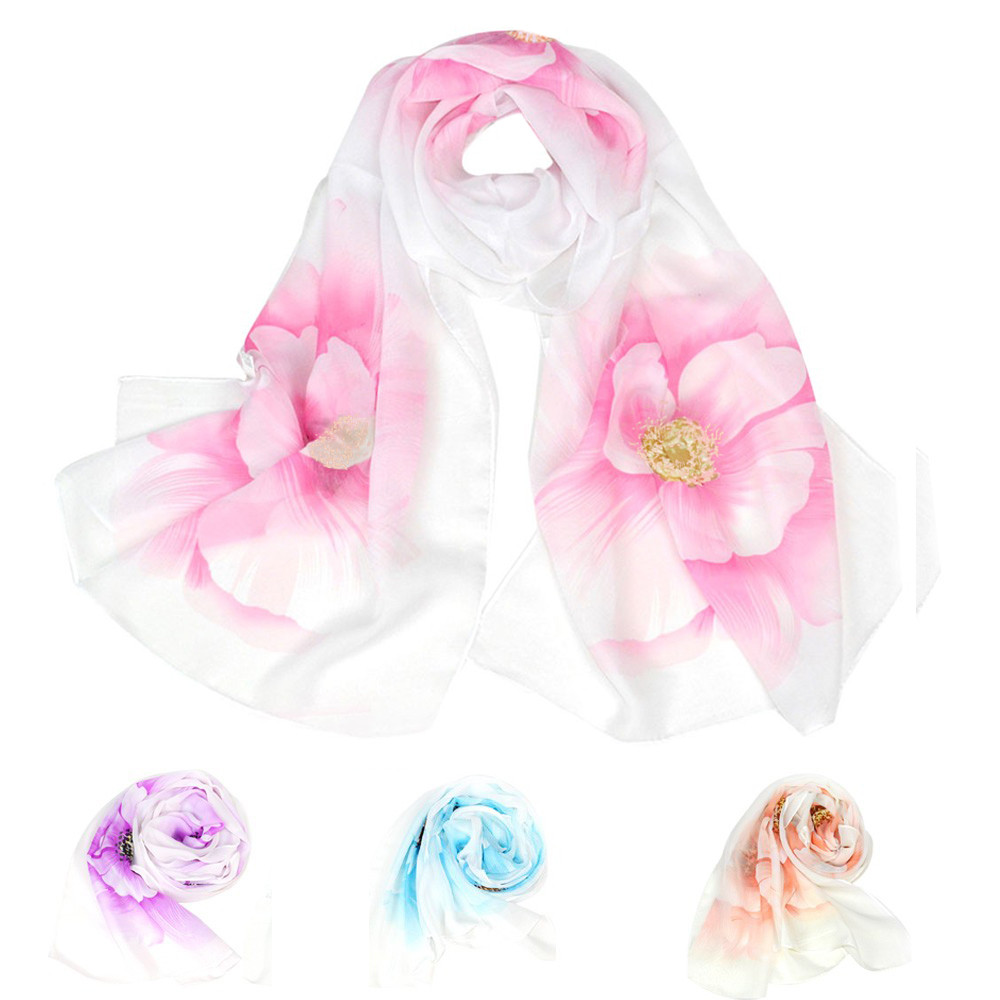 Elegant Small bandana Fashion Gift Satin   Scarf   Party Women Hair Tie Band Fashion Leopard Style   Wrap   Lady Shawl Chiffon   Scarf