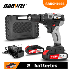 Impact Cordless Drill Brushless Cordless Drill Impact Brushless Power Tools Hammer Drill