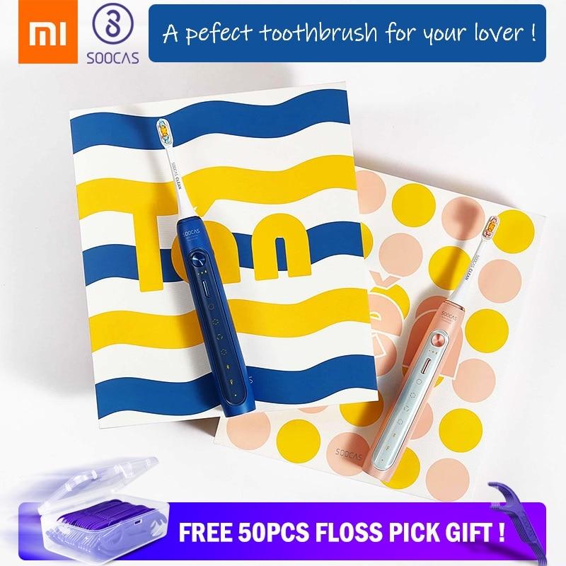 Xiaomi Mijia Toothbrush Soocas X5 Sonic Electric Teeth Brush Upgraded Waterproof Ultrasonic Automatic Toothbrush Rechargeable