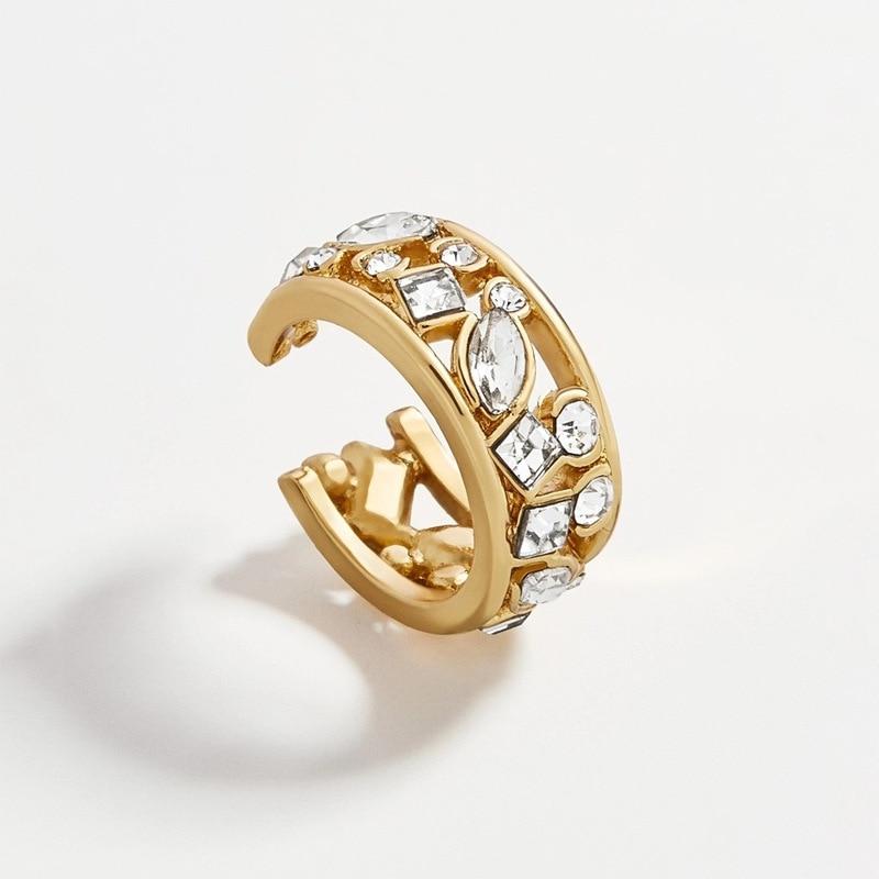 Vintage-Gold-Clip-on-Earrings-Crystal-Ear-Cuff-No-Pierced-Earrings-Punk-Fashion-Earrings-for-Women