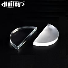 Оптическая полукруглая стеклянная линза полуцилиндрическая зеркальная