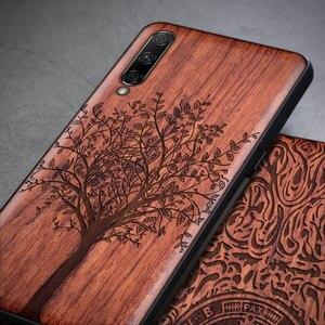 Image 2 - For Xiaomi Mi A3 Case Boogic Original Wood funda Mi A3 Lite Rosewood Cover Phone Case For Xiaomi Mi CC9 CC 9e