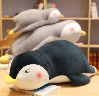 Soft sleep penguin pillow Plush toys Stuffed animal toy penguin doll Lovely shy penguin cushion Birthday gift penguin