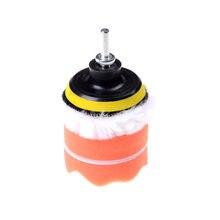 5 шт Автомобильная полировальная губка колесной базой полировщик