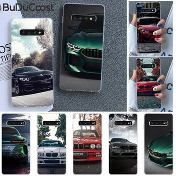 Diseny Blue Red Car For Bmw Phone Case for Samsung S9 plus S5 S6 S7 edge S8 S10 plus image