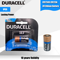Новый оригинальный DURACELL литиевая батарея 3v 1550 мА/ч, CR123 CR 123A CR17345 16340 cr123a сухая Первичная батарея для камеры метр