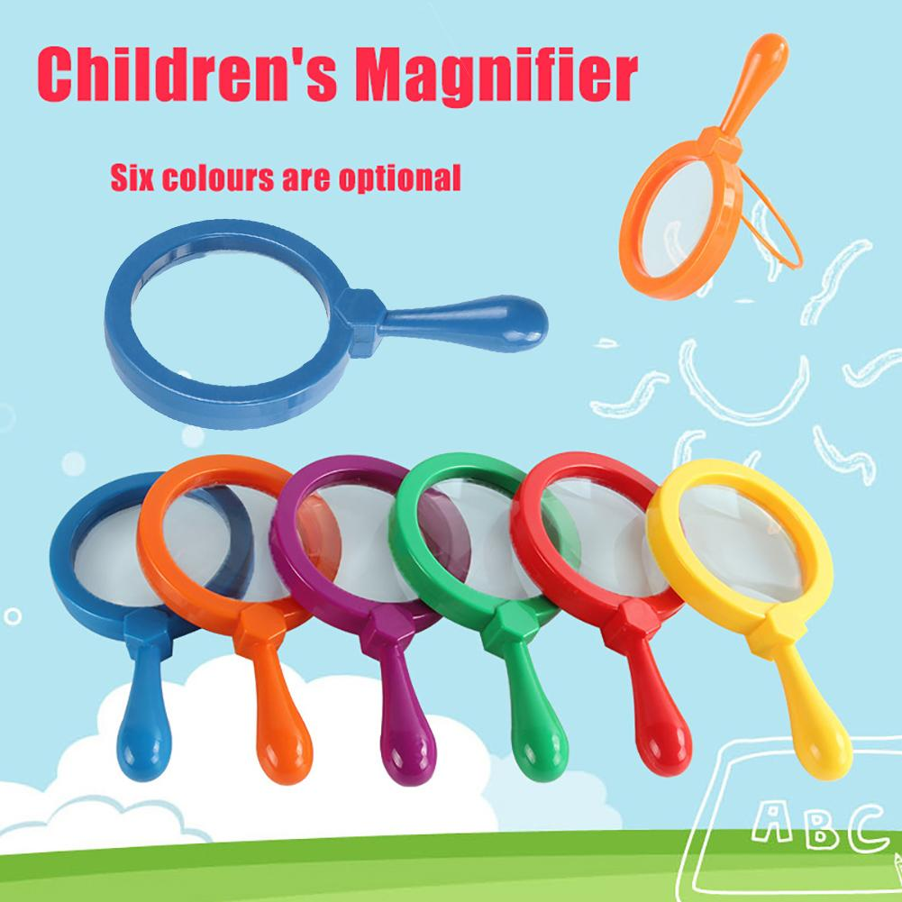 Children Learning Resources Primary Science Magnifier With Stand Educational Toy Supports Inquiry-based Investigation