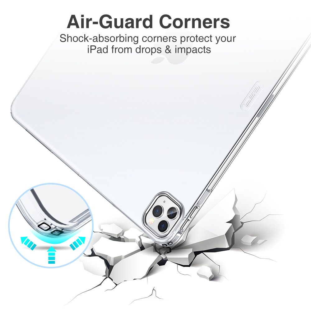 cheapest ESR Clear Case for 2020 iPad Air 4 iPad Pro 11  12 9 Inch Soft Flexible Cover Ultra Thin Air-Guard Protective Case for New Air