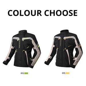 Image 2 - SCOYCO אופנוע מעיל עמיד למים Chaqueta Moto חליפת מוטוקרוס מעיל Moto מירוץ רכיבה מעיל עם הגנה לחורף