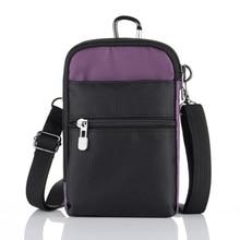 Для женщин Для мужчин паспорт на ремне; дорожная нейлоновая сумка в стиле casual многофункциональные спортивные подвесная сумка для хранения вещей для кредитных карт чехол для телефона Водонепроницаемый