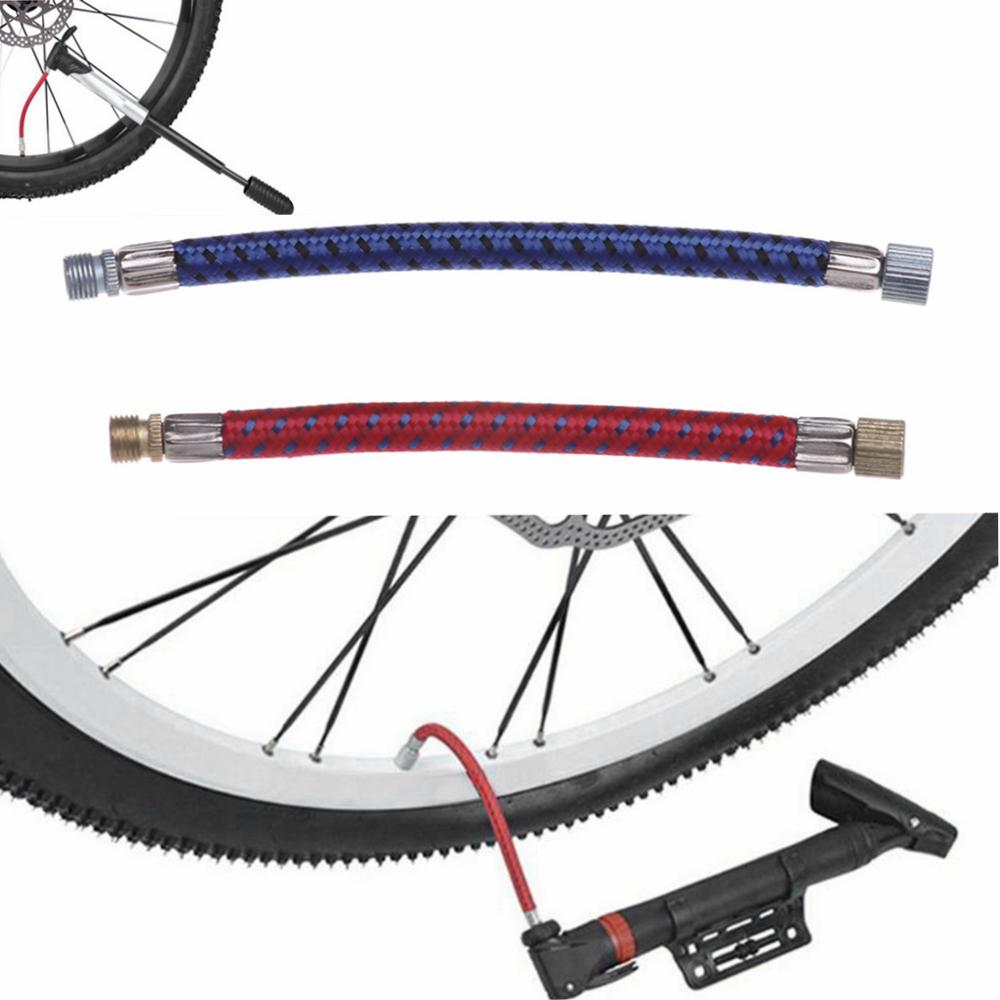 Parts Pump Extension Hose Bicycle Pumps Tube Pipe Cord Bike Hose Adapter