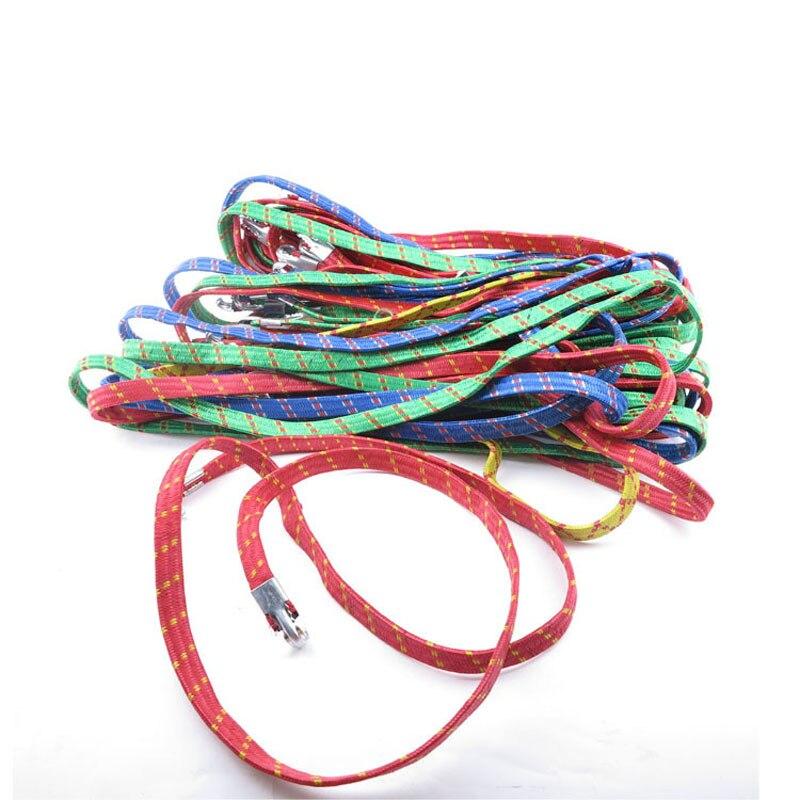 2 PCS Outdoor bicycle bundled rope strap, motorcycle rear shelf luggage strap, hook elastic band, portable elastic rope