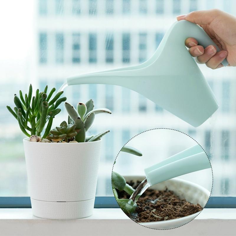 Plastic Long Mouth Flower Watering Can Garden Plants Watering Pot Sprinkling Plant Watering Tools Garden Supplies