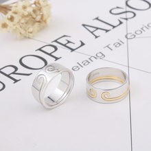 Straitjacket Ring-in-Trill Celebrity Inspired Couple Rings Monkey King Straitjacket Ring Lettering Accessories(China)