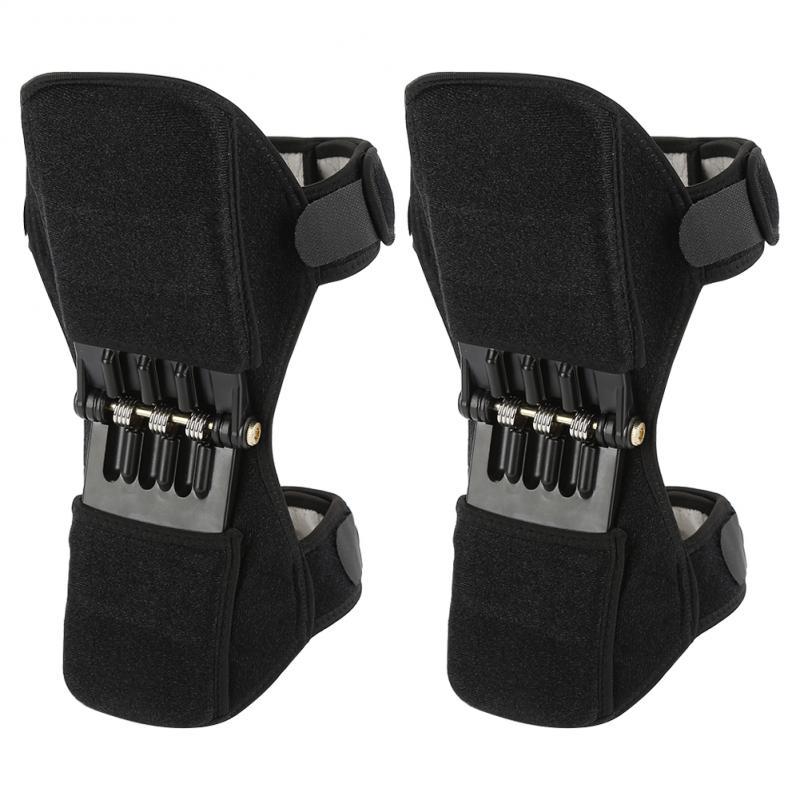 Joint Support Knee Pads Rebound Powerleg knee booster brace support ortofit stabilizer joelheira Power Lift Protect Equitment SD