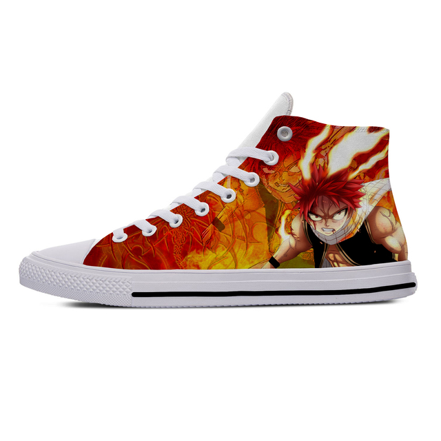 FAIRY TAIL THEMED HIGH TOP SHOES (5 VARIAN)