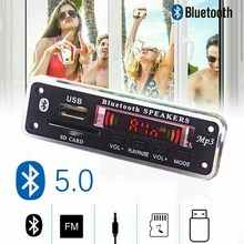 Car fittings  mp3 player Bluetooth MP3 decoder board card reader module audio accessories with FM radio