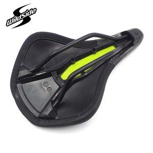 Image 4 - WILDSIDE Lightweight Road Bike Saddle 155mm for Men Women Bicycle Saddle Comfort Mtb Mountain Bike Saddle Seat Wide Racing Seat