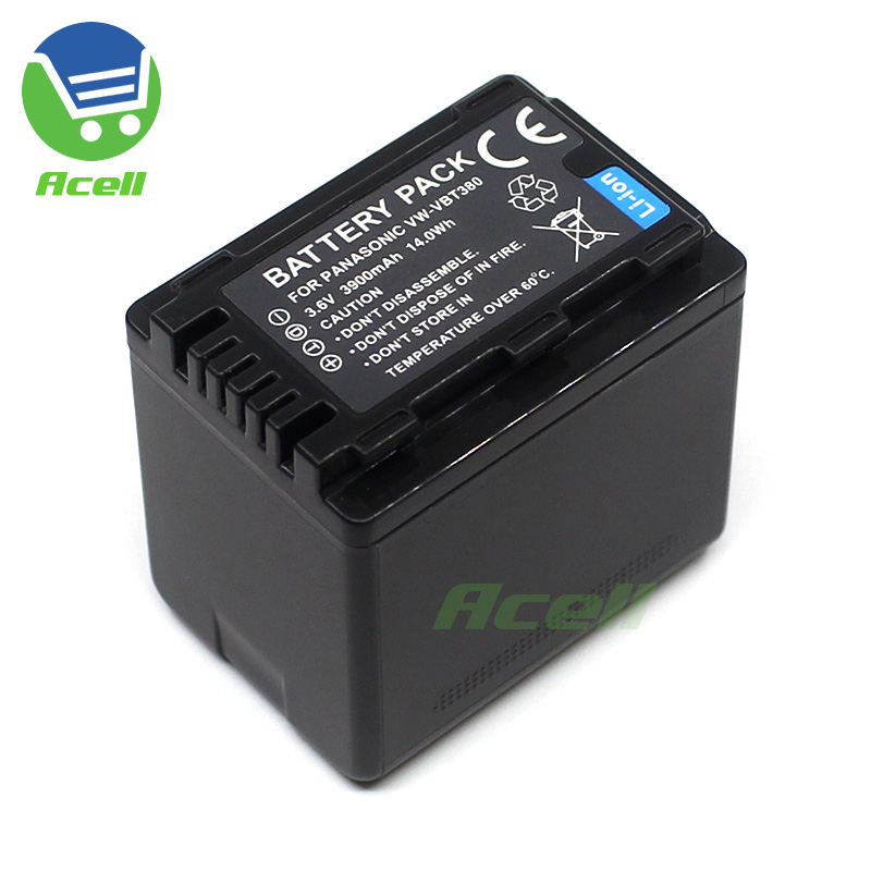 HC-W580EB-K Battery Pack for Panasonic HC-W580M HC-W850M Full HD Camcorder HC-W580EG-K