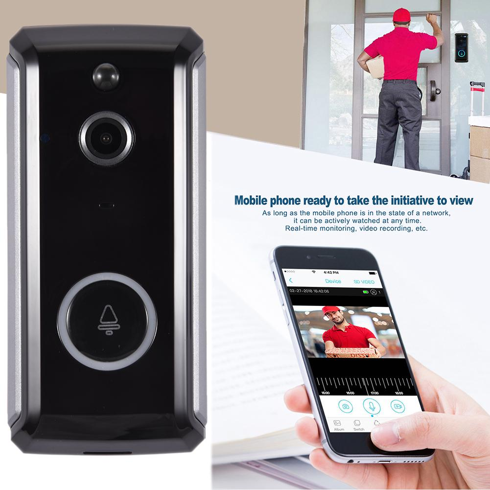 MR101 Wireless Video Doorbell WiFi 1080P Home Surveillance Cloud Service 2way Call For IOS Android Phone Motion Detection Camera