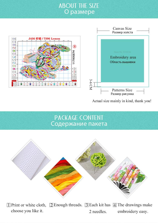 Joy Sunday Cross Stitch Kits Sale 11CT 14CT Embroidery Cross Stitch Kit for Needlework Cross Stitch Sets for Embroidery DIY Crafts (6)