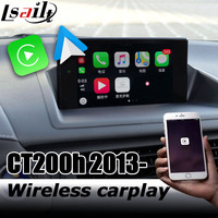 Carplay interface box for Lexus CT200h 2012 2019 7 video interface remote touch control CT RX350 RX450h by lsailt