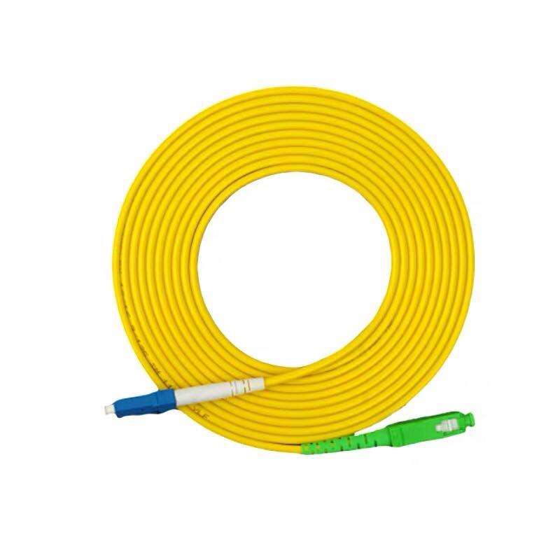 10 Uds LC UPC SC fibra APC óptico parche cable, cable de puente SM monomodo simplex 500M al aire libre LC UPC dúplex gota FTTH Cable LC monomodo dúplex G657A Cable de parche de fibra óptica FTTH Cable de fibra óptica