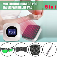LASTEK 5 in 1 Home Health Care Kit 36 Lasers Wound Healing Prostatitis Mastitis Pain Relief Laser Therapy Device + 4 Free Gifts