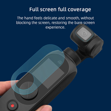 Lens Screen Protector Protective Film for FIMI PALM 2 Gimbal Camera Tempered Glass Lens Screen Protective Film Covers