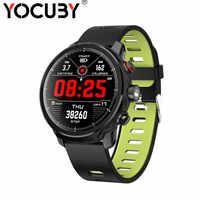 L5 inteligentny zegarek mężczyźni z pulsometrem IP68 wodoodporny pływanie smartwatch bluetooth kobiety długi czas czuwania PK L7 L8 Dropshiping