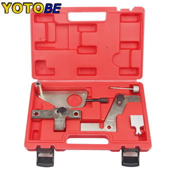 Engine Camshaft Timing Locking Tool Kit For  Landrover Evoque 2.0T For  Ford Mondeo Jugar petrol engine setting locking kit belt chain drive engine timing tool for ford mazda mondeo focus