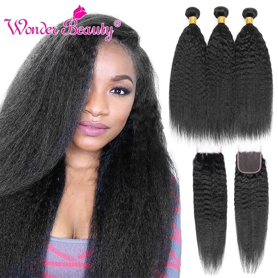 Kinky straight hair