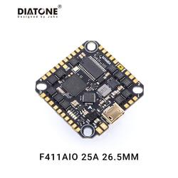 Diatone Mamba F411AIO BlheliS 25A ESC DSHOT600 4S Flug Controller Stapel für FPV Drone