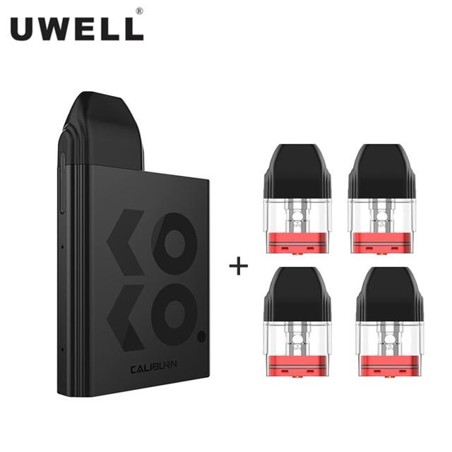 New Uwell Caliburn KOKO Pod System Kit Flavor Focused Vape 520mAh Battery 2mL Cartridge 11W Electronic Cigarette Vaporizer