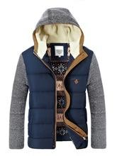 3XL Winter Jackets Men's Coats Thick Fleece Stand Collar Men's Jackets Casual Solid Male Outerwear Warm 2016 women stand up collar deep colour running basic jackets sports outerwear