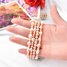 Bracelet Beadeds for Apple Watch Band 44mm 40mm Girl Cute Handmade Fashion Elastic pearl Strap 42mm 38mm iWatch Series 5 4 3 2 1
