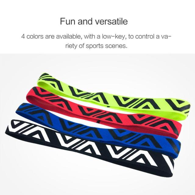 1PCS Sweat Guiding Belt Gym Headband Anti-Slip Breathable Yoga Hair Band Unisex Outdoor Running Sport Hair Band Sweatband 3