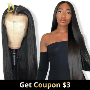 Short Lace Front Human Hair Wigs Bob Wig For Black Women Brazilian Natural Long Straight Afro Swiss Lace Frontal Wig Preplucked(China)