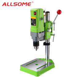 ALLSOME MINIQ BG-5156E Bench Bohrer Stand 710W Mini Elektrische Bench Bohrmaschine Bohrfutter 1-13mm HT2600