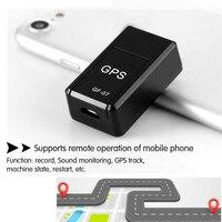 Localizador GPS magnético para coche, minilocalizador de GF-07 GSM, GPRS, en tiempo Real, Universal, para motocicleta, 1 ud.