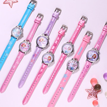 2020 New Disney Princess Series Frozen Minnie Girl Strap Quartz Watch Kids Clock Women Wristwatch Ladies Watches Children Gift