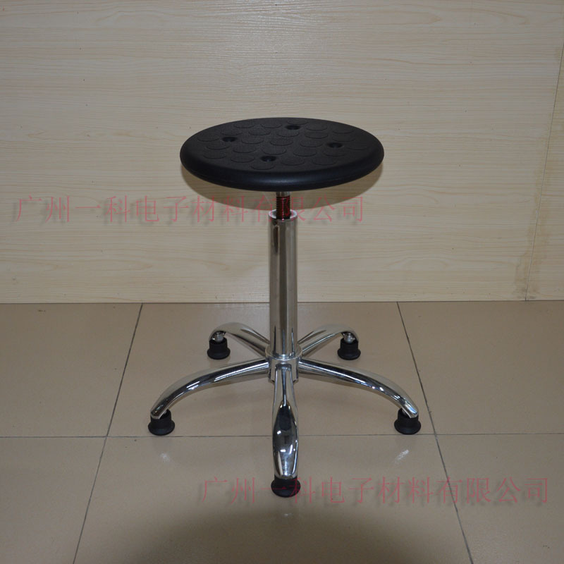 Manufacturers Production Made Spiral Height Adjustable Round Stool Laboratory Chair Anti-static Workbench Height Adjustable Roun