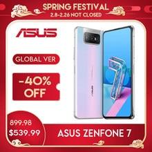 هاتف ASUS Zenfone 7/ 7pro سنابدراجون 865/865 Plus NFC أندرويد OTA 5000mAh QC 4.0 8GB RAM 128/256GB ROM 6.67