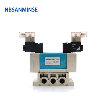 NBSANMINSE VIX2532 / VIX2531  G3/8  2 Sliding plate ceramic seal solenoid valve product adopts ceramic seal switch technology