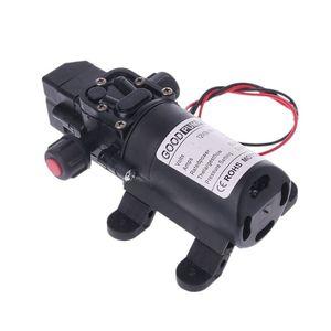 Image 3 - DC 12V 130PSI Micro Waterpomp High Pressure Diaphragm Self Priming Water Pump 70W 6L/Min For Farming Lawn Garden Tour Vehicles