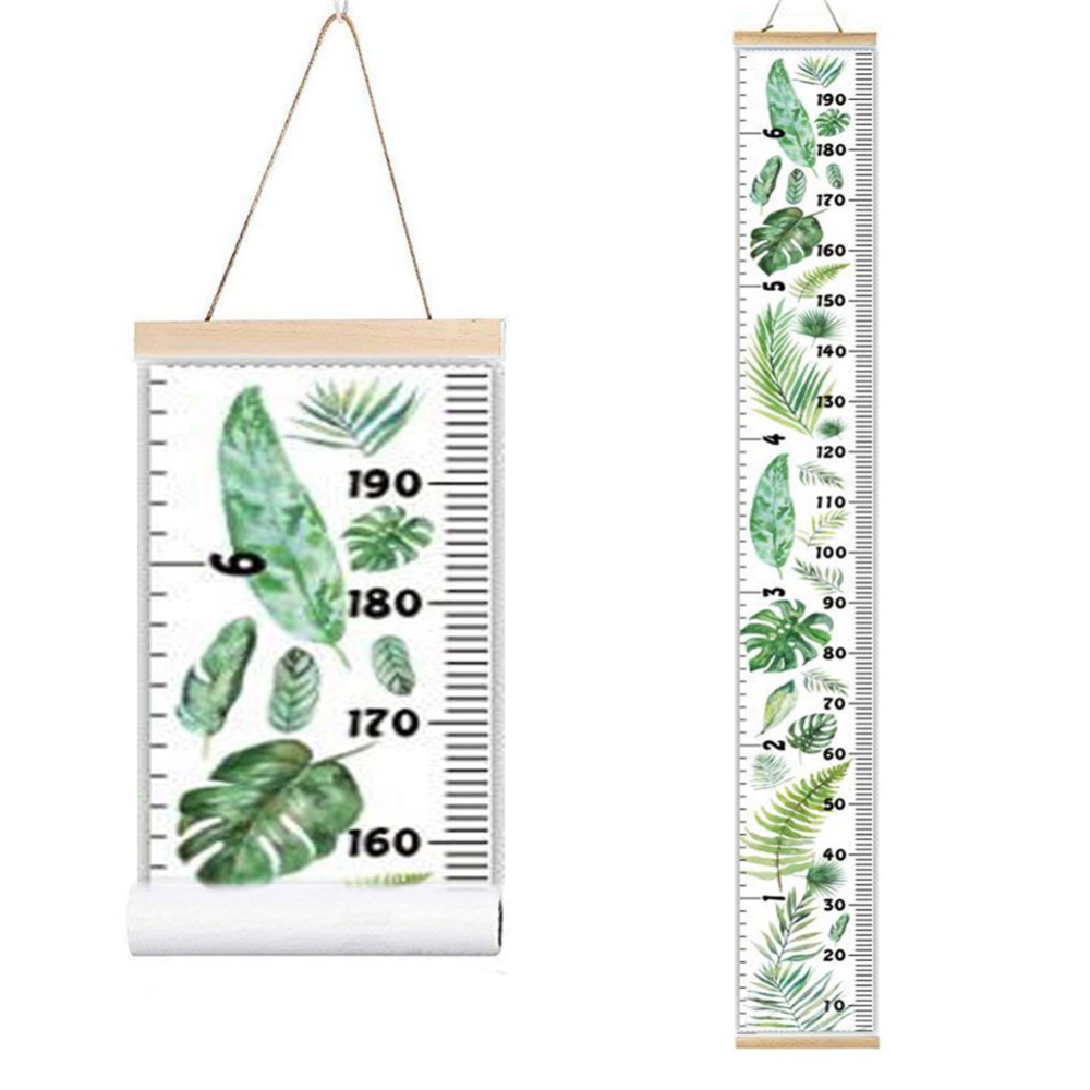 1pcs Kids Height Growth Chart Wall Hanging Baby Measure Ruler Sticker Decorative Child
