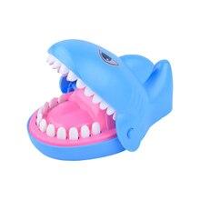 1 шт. практичная игрушка для кусания пальца акула дизайн игрушки декоративные милые Вечерние игры для семьи детей мужчин студенток женщин