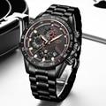 Мужские часы  2020 LIGE  Лидирующий бренд  мужские часы  нержавеющая сталь  водонепроницаемые  с датой  кварцевые часы  мужские  деловые  классиче...