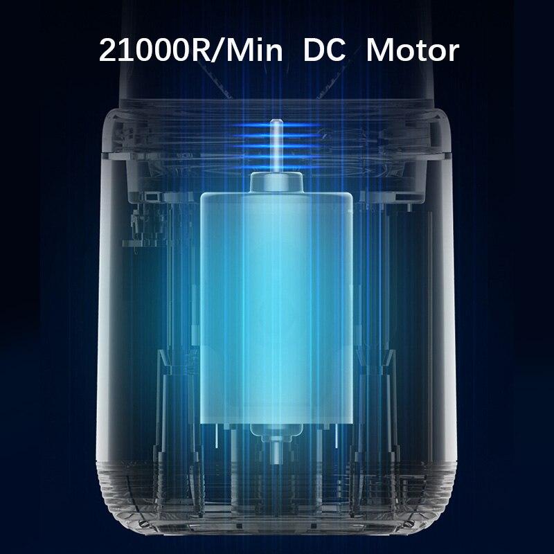 Deerma персональная портативная соковыжималка, блендер, фрукты 21000 DC, электрический миксер без бисфенола А, бутылка, USB перезаряжаемая соковыжималка 3