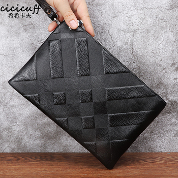 Men Clutch Bags Men's Wallets Genuine Leather Long Purse Male Multifunction Soft Leather Wallet Passport Cover Clutches for Male wallet male genuine leather men s wallets for phone clutch male bags ultrathin coin purse men cow leather simple long wallet new